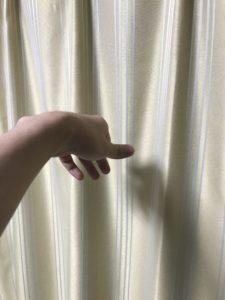 3フィンガースロー後の手の形